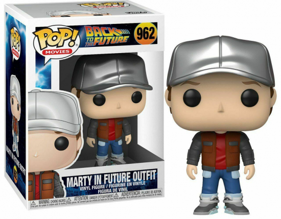 Back to the Future - POP N°962 Marty future outifit