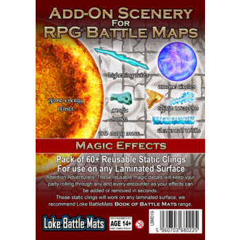 Add-on Scenery - Effets magiques