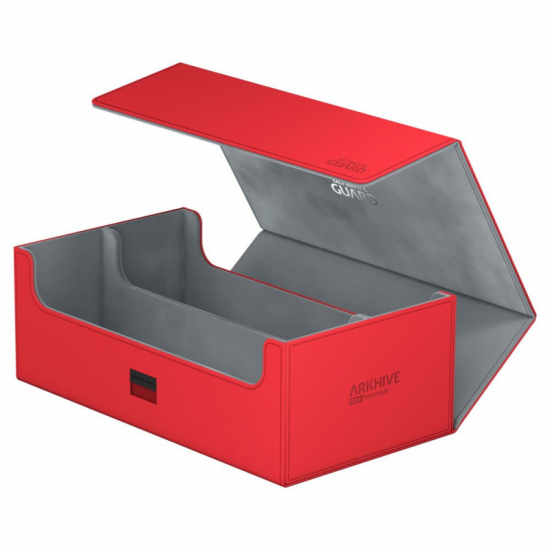 Deck box Ultimate guard - Arkhive 800+ XenoSkin rouge