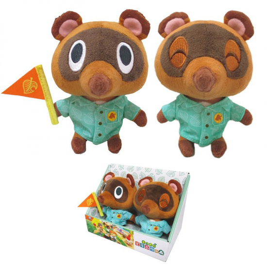 Animal Crossing - Set de 2 Peluches Tommy & Timmy